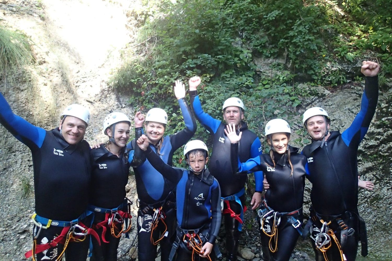 Adrenaline canyoning slovenia