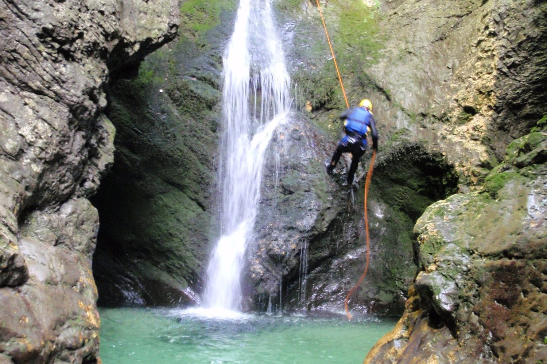 Canyoning from Ljubljana