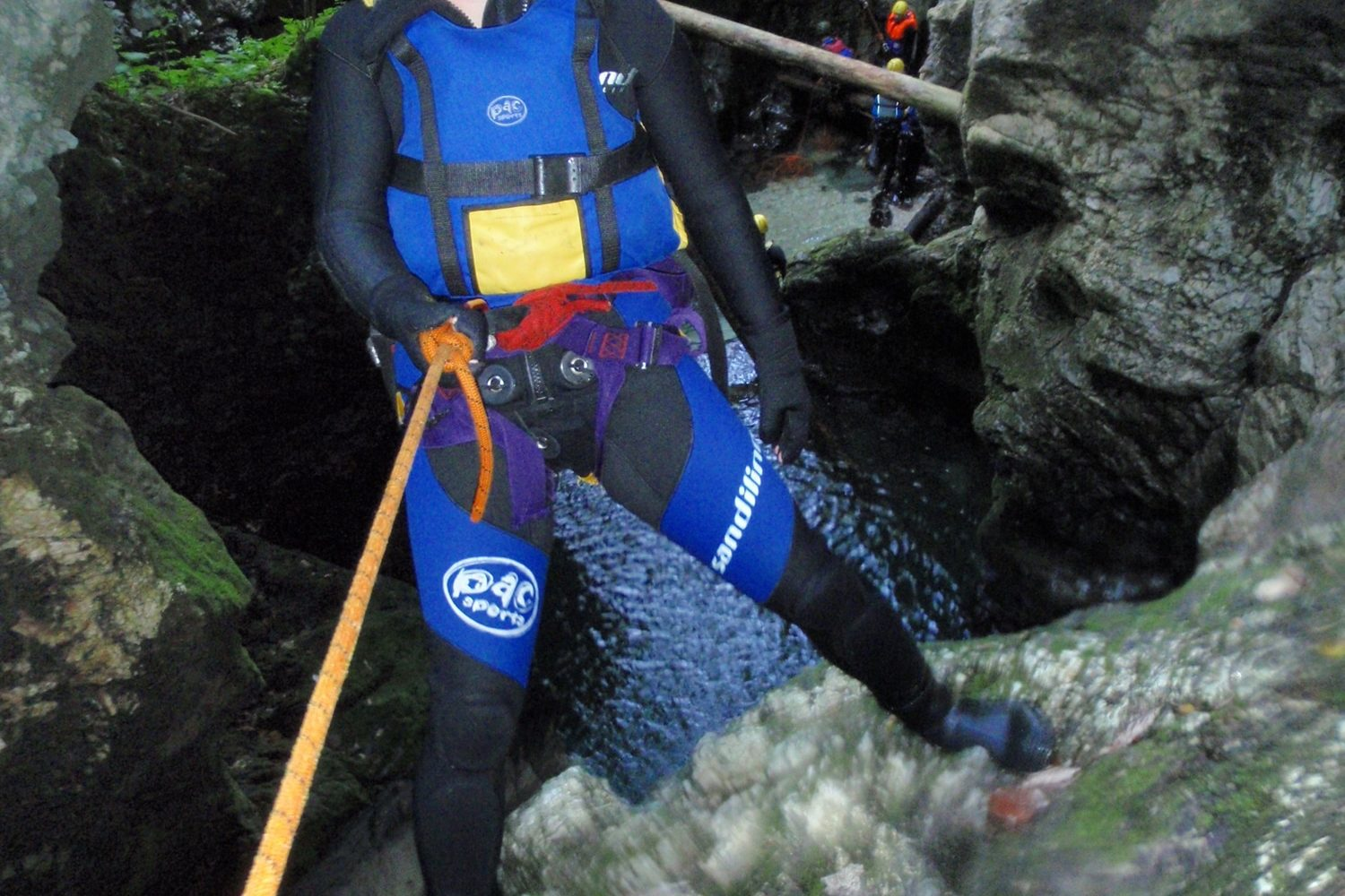Canyoning-in-triglav-national-park