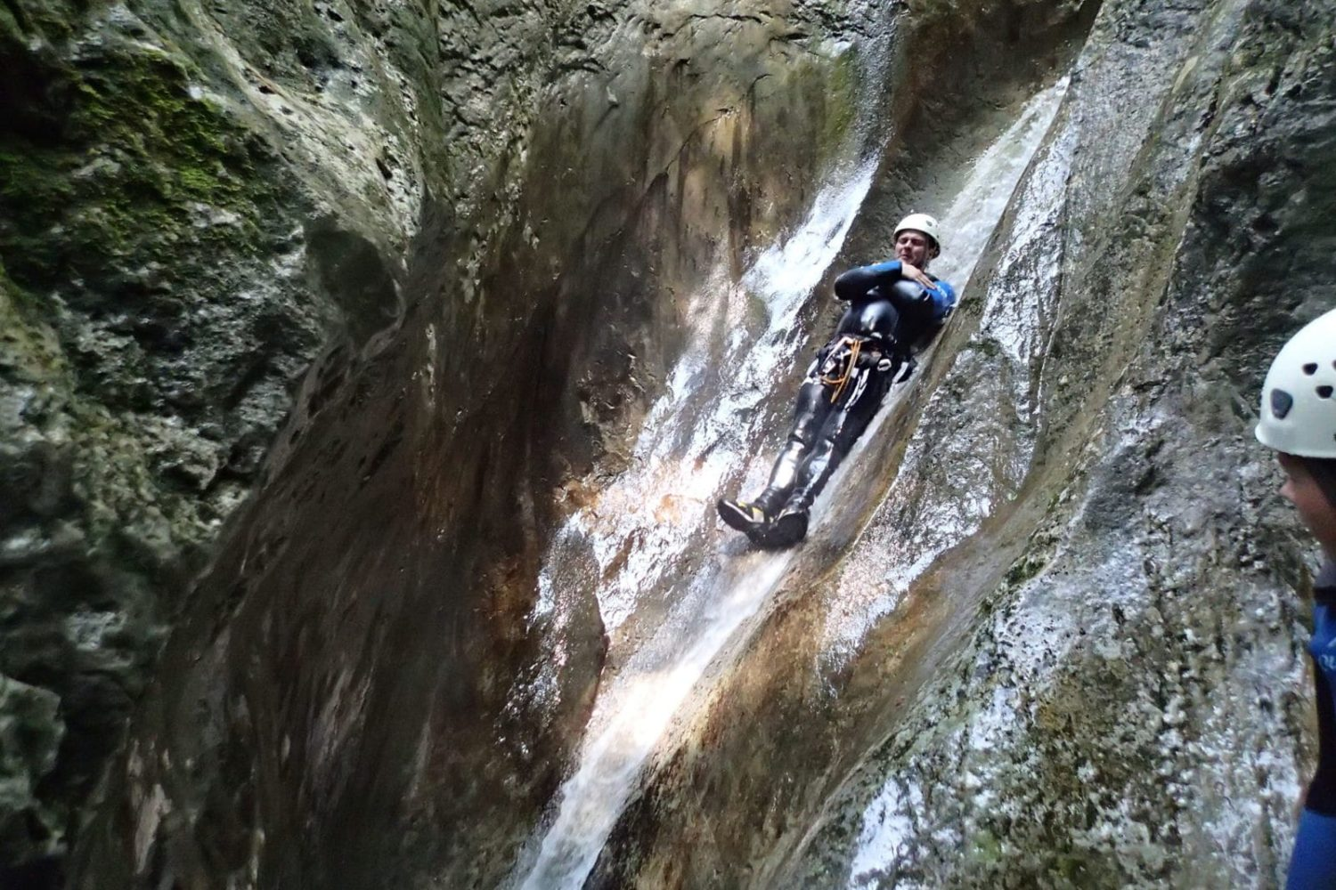 Canyoning from Bled