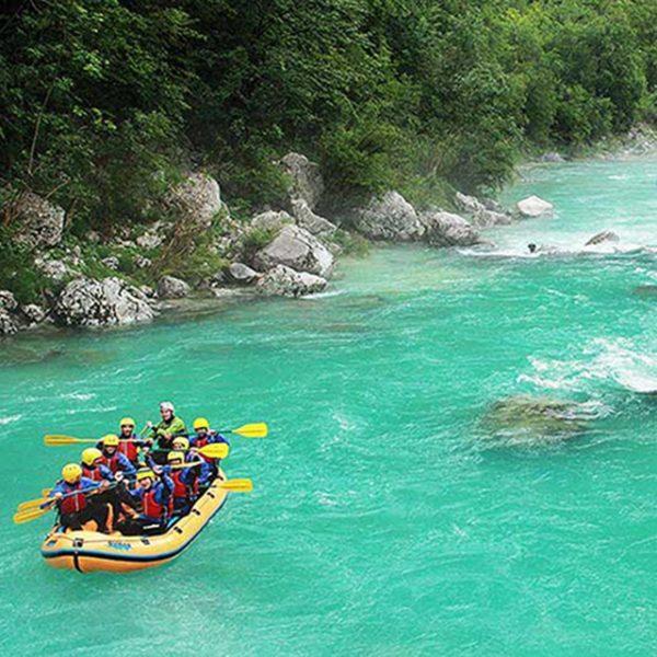 Rafting na reki Soči