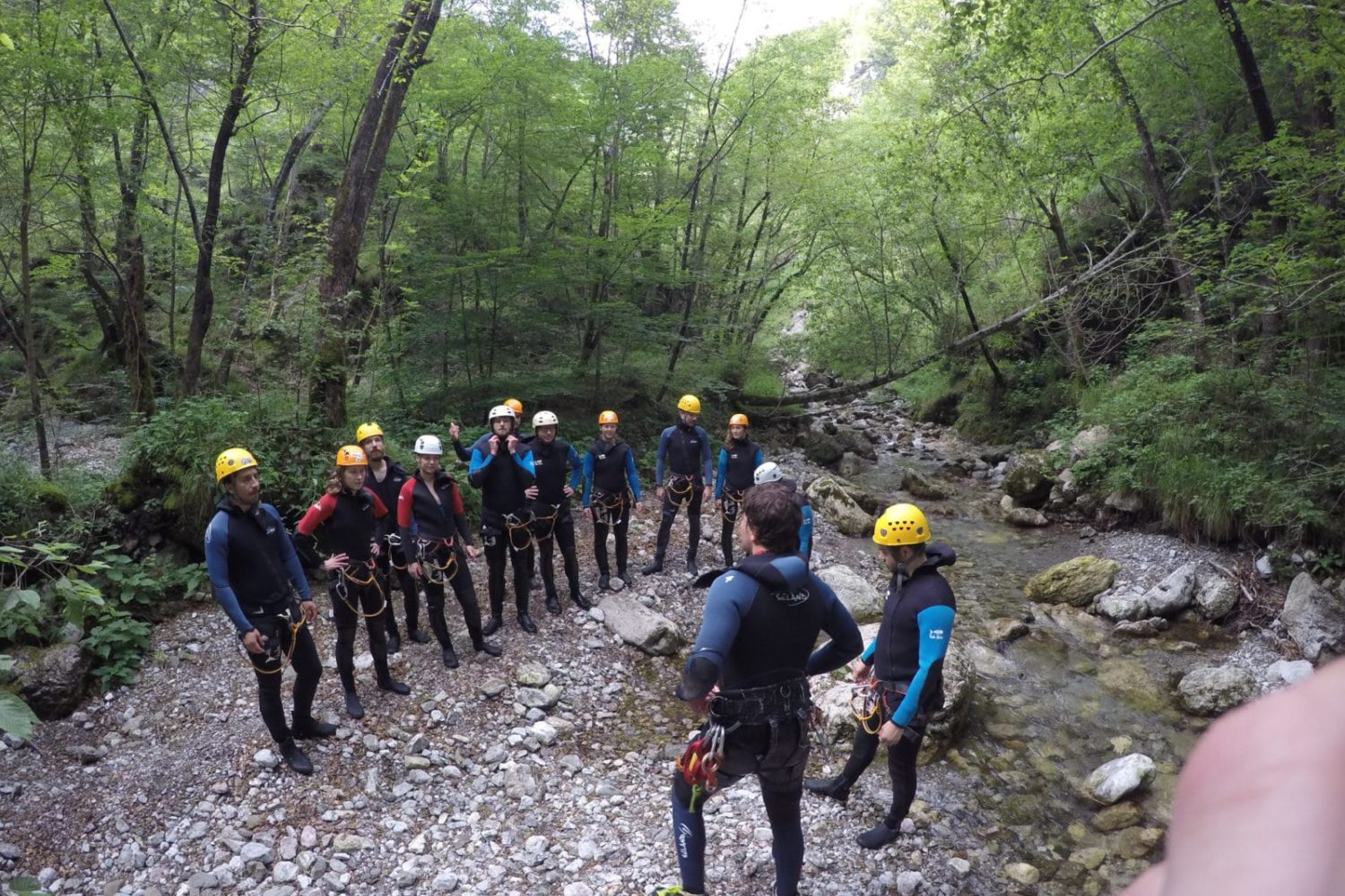 Canyoning in Fratarica