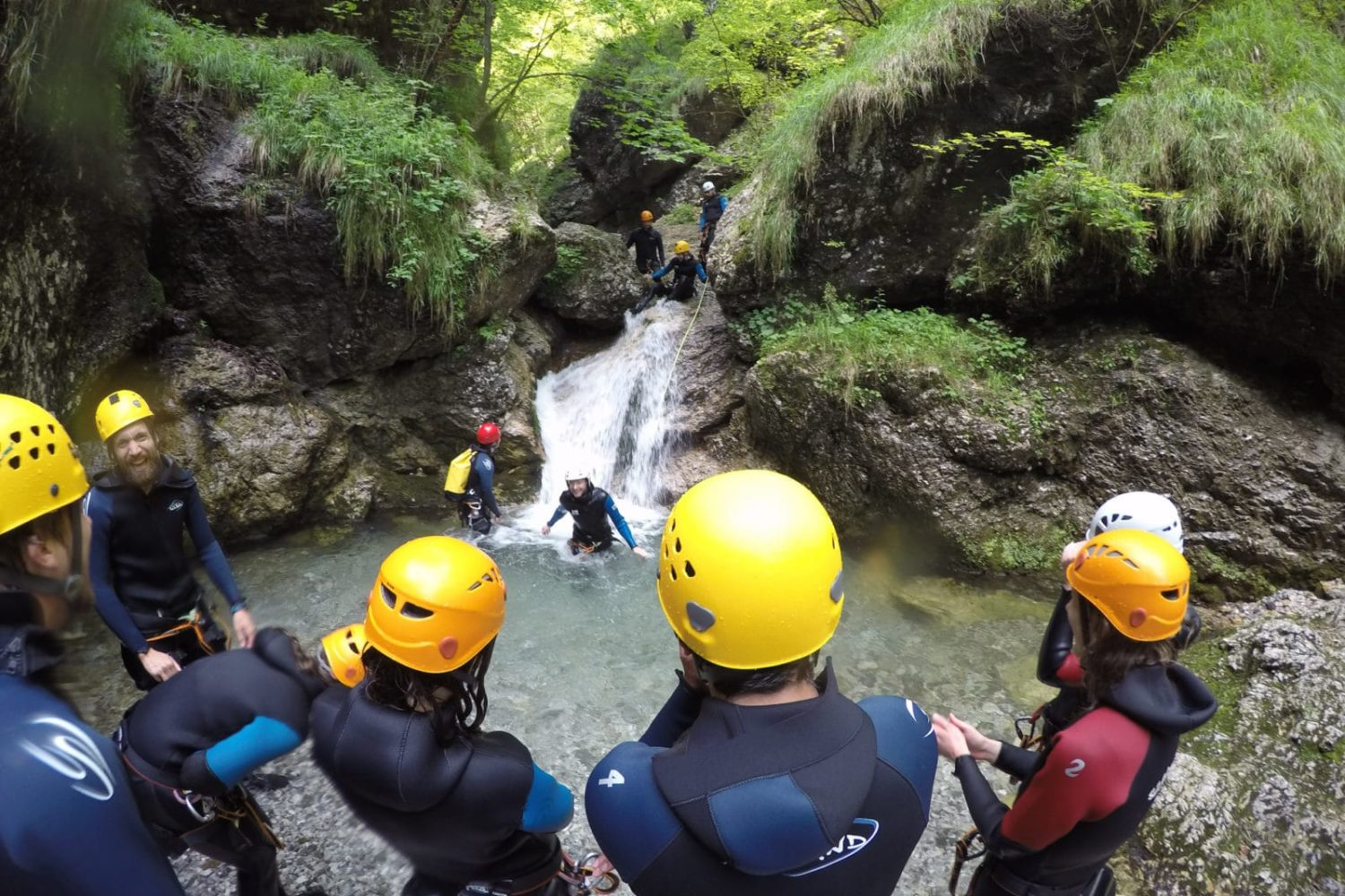 Canyoning in Sušec canyon