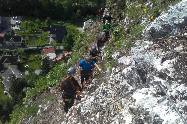 Climbing around Ljubljana