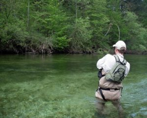 The best flyfishing in Slovenia