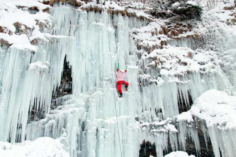 Ice climbing from Ljubljana