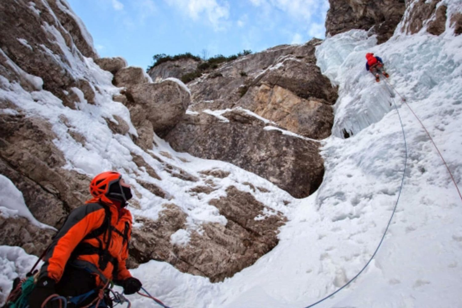Ice climbing in Slovenia from Bled or Ljubljana