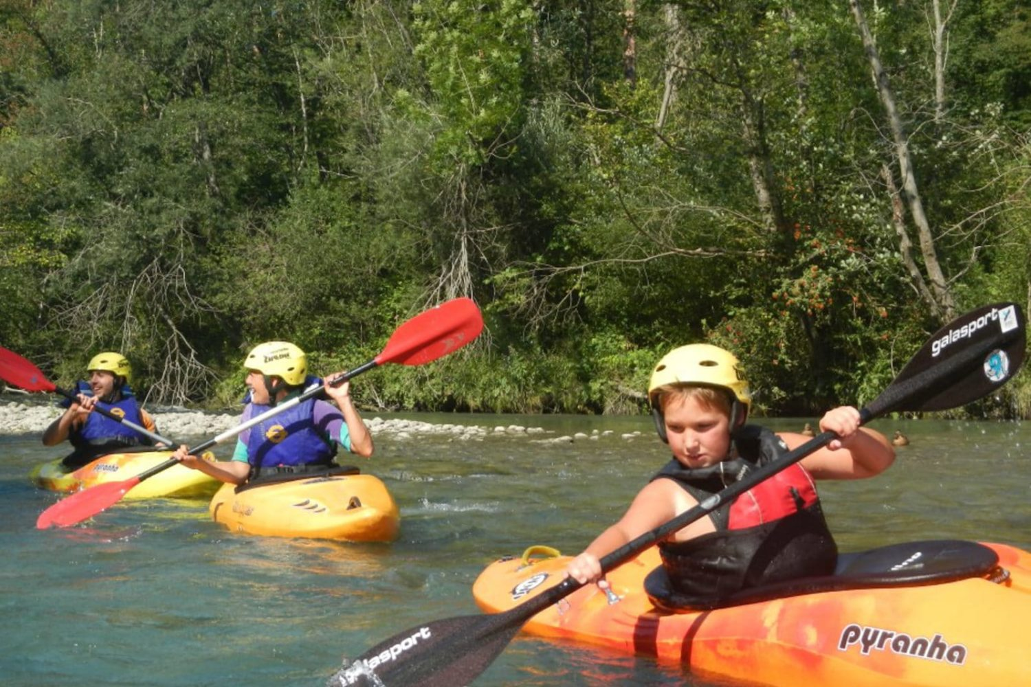 Kayaking in Bled area