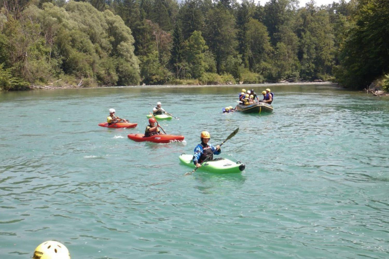 Kayaking in Bled Slovenia