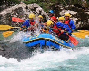 Rafting v Sloveniji