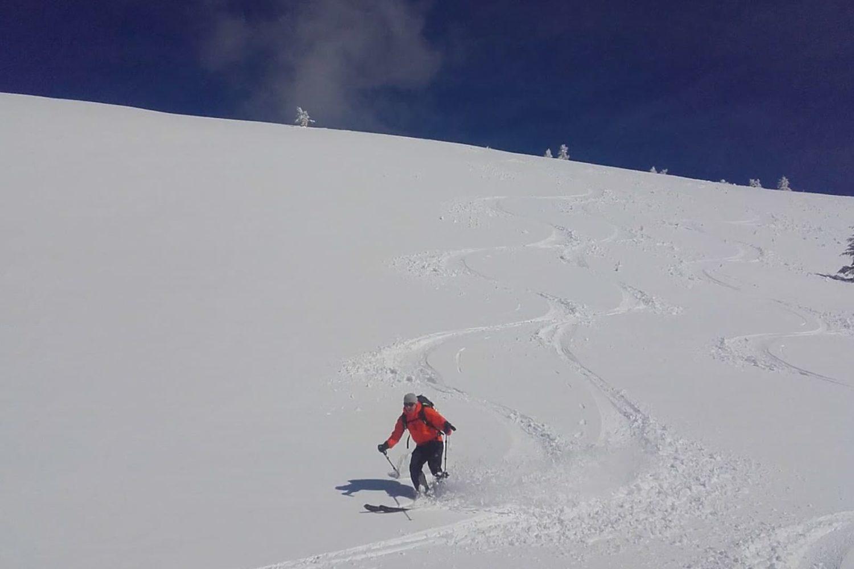 Ski touring Bled