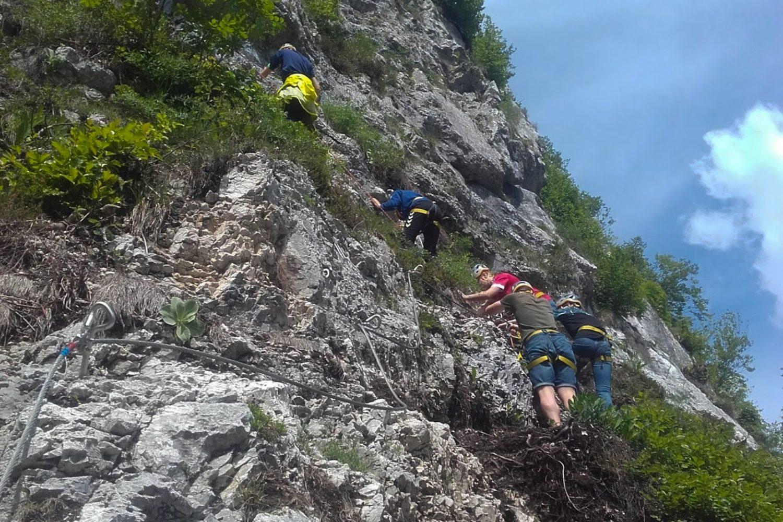Via ferrata from Ljubljana