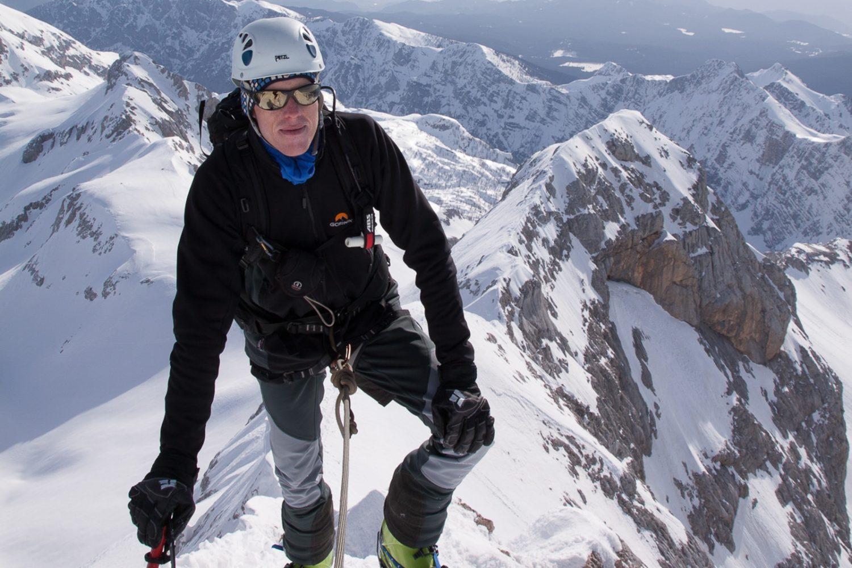 Winter mountaineering Slovenian Alps from Ljubljana