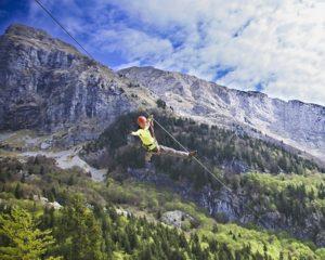 Najboljši zipline v Sloveniji