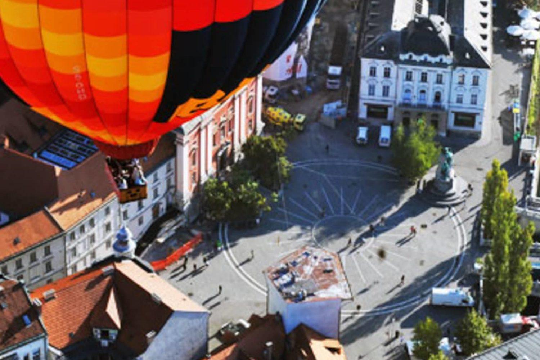 Ballooning over Ljubljana